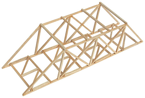 build with balsa wood for kids